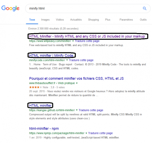 Minify html google search.png